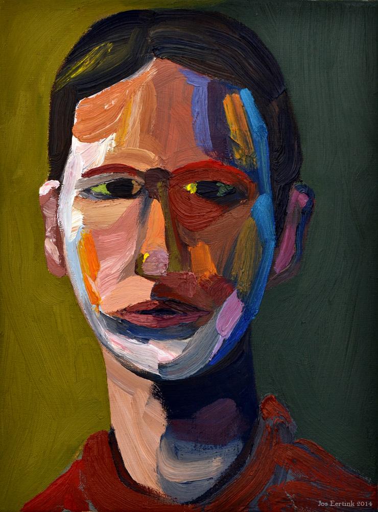 self portrait ideas fauvistic style